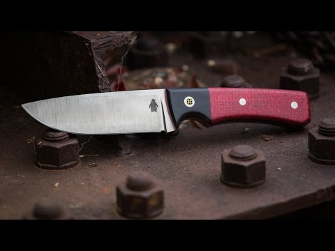 Making A Drop Point Hunting Knife