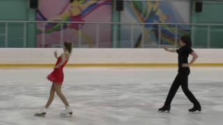 Марина Тихонова и Дарио Чиризано, Короткий танец, Первенство СПб 2017