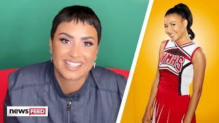 Demi Lovato & Glee Cast Remember Naya Rivera At GLAAD Awards