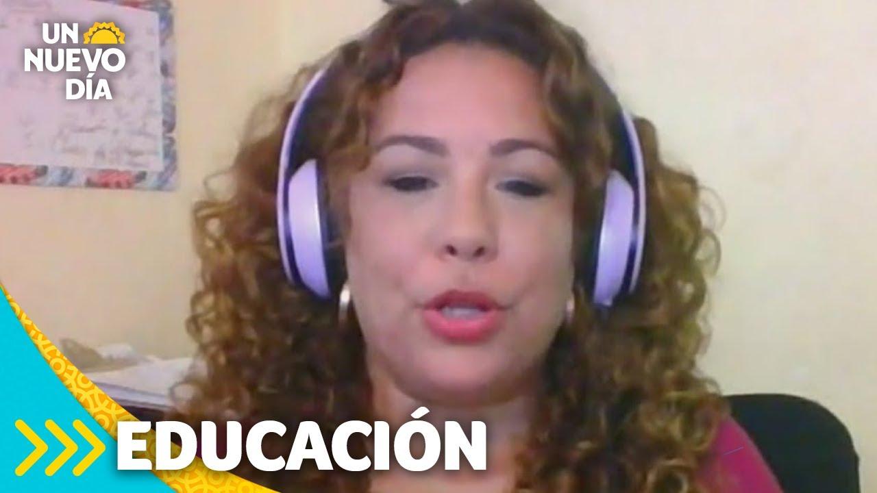 Viral: maestra llora por el desinterés de sus alumnos | Un Nuevo Día | Telemundo