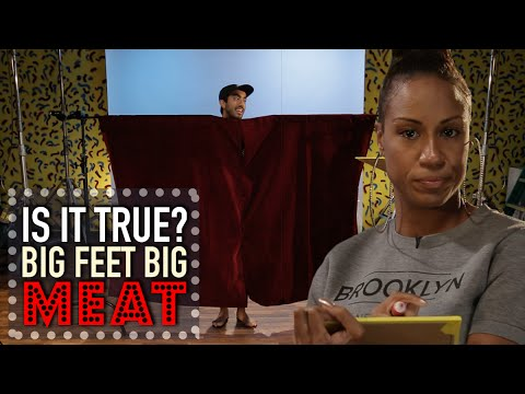 Big Feet Equals Big Meat? - Is It True