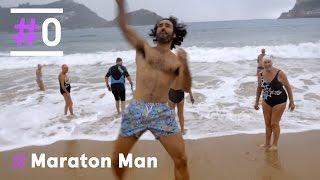 Maraton Man: Baño bajo la lluvia en el Cantábrico - Behobia  | #0