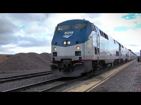 Amtrak and Las Vegas, New Mexico in 4K