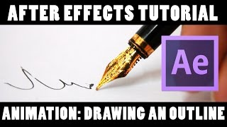 How To: Handwriting Animation | After Effects CC 2017 Tutorial