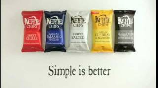 """KETTLE CHIPS COMMERCIAL """"Simple"""""""
