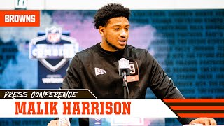 "Malik Harrison: ""I'm one of the biggest linebackers in this draft class"" 