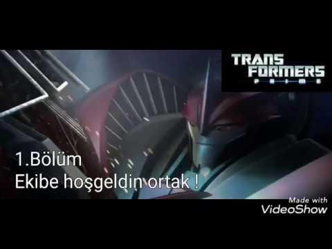 Ekibe hoşgeldin ortak ! - Transformers Prime 1.Bölüm - minika go