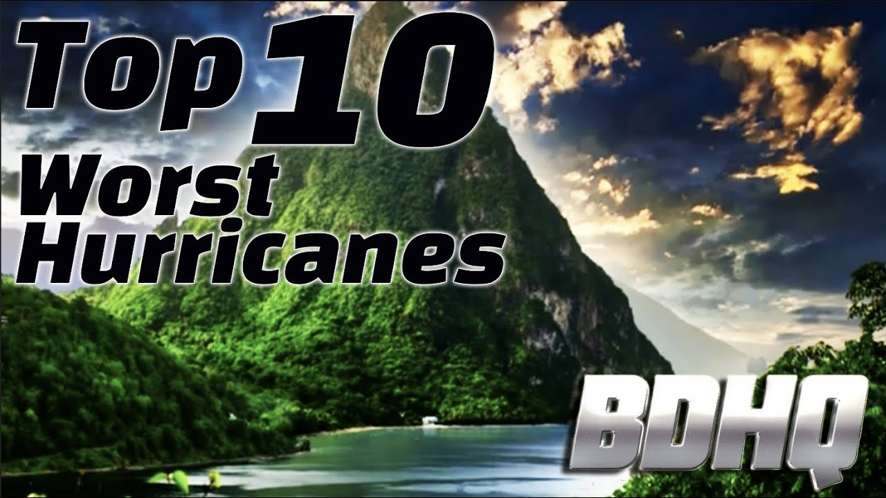 Top 10 worst Hurricanes in History