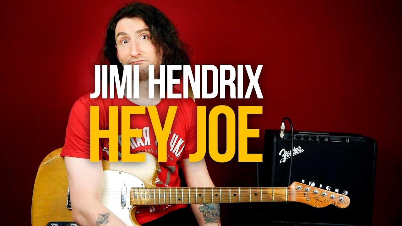 Как играть Hey Joe Jimi Hendrix на гитаре