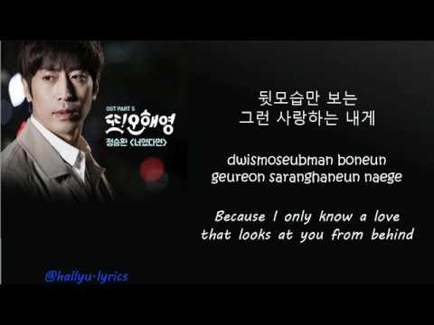 Jung Seung Hwan  If It Is You Another Miss Oh OST lyric