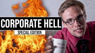 Corporate Hell   Special Edition #grindreel #100k