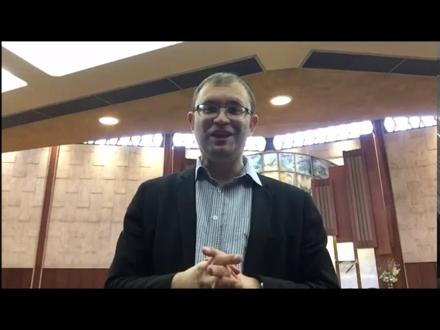 Video Message from Rabbi Knopf - November 19, 2020