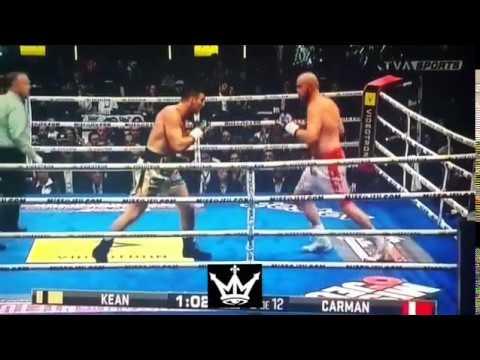 Kean Vs Carmen Heavyweight Highlight KO's