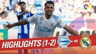 Resumen de Deportivo Alavés vs Real Madrid (1-2)