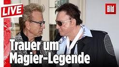 🔴Magier-Legende Roy Horn stirbt an Corona –  Wir schalten live nach Las Vegas   BILD Live