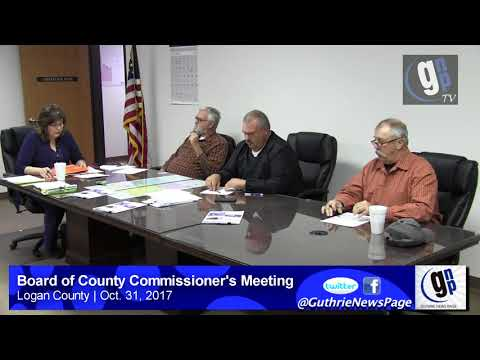 Board of County Commissioner's Meeting (Oct. 31, 2017)