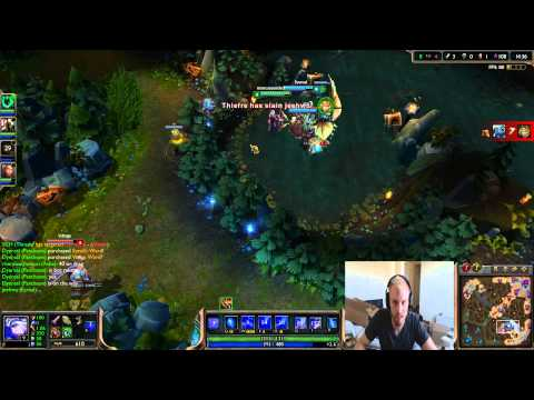 """League of Legends """"The Journey Back"""". How to go from Gold to Diamond I. Gold I to Plat V Game 3."""