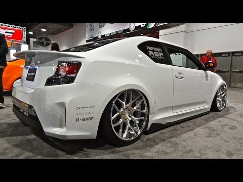 Scion Tc Engine Mods - Crazy Scion TC's @ SEMA 2013