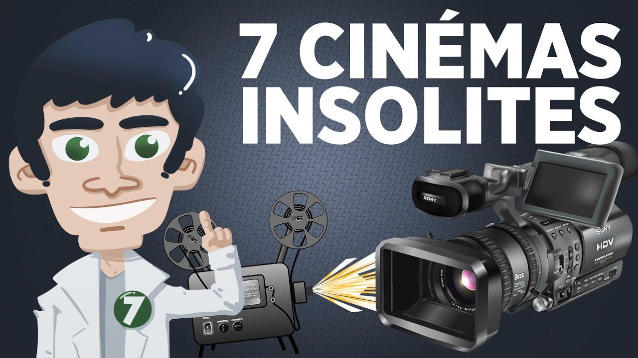 7 Cinémas insolites
