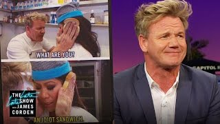 Gordon Ramsay Set a Bleep Record - The Late Late Show with James Corden