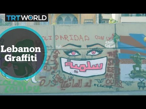 Lebanon Protests: Graffiti Becomes A Way For Protesters To Spread Message