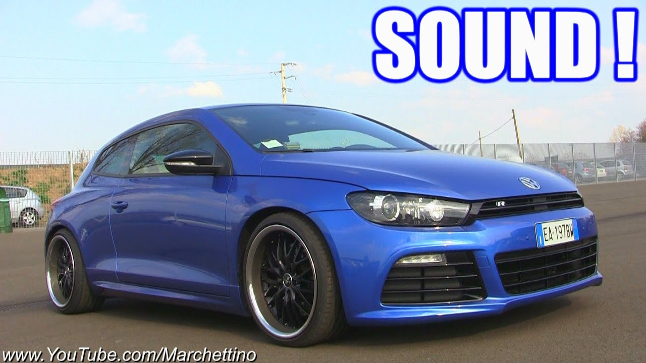 vw scirocco r lovely sound start rev accelerations. Black Bedroom Furniture Sets. Home Design Ideas