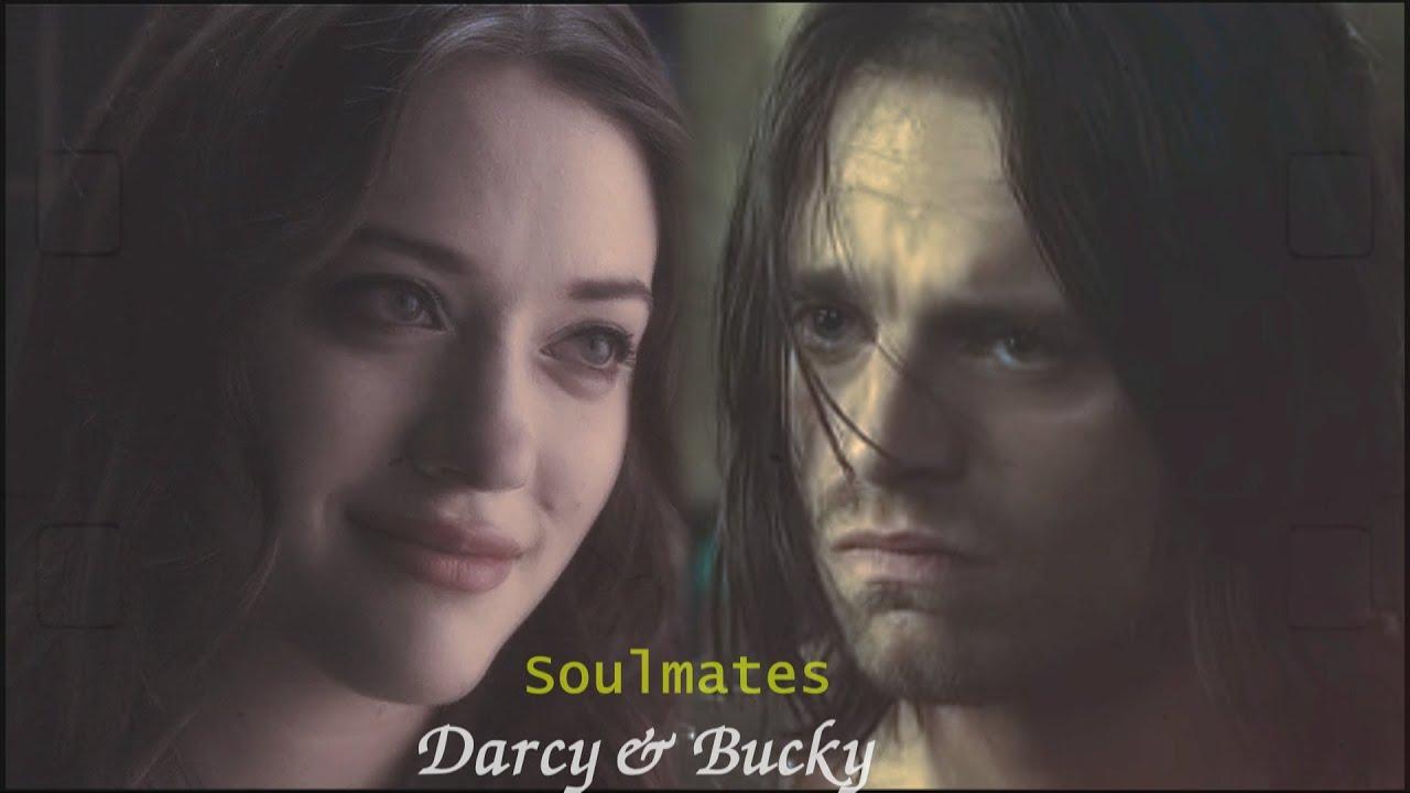 Bucky & Darcy Lewis - Soulmates MV   Wintershock crossover
