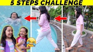 5 STEP CHALLENGE | AKU HARUS NYEBUR KE KOLAM RENANG