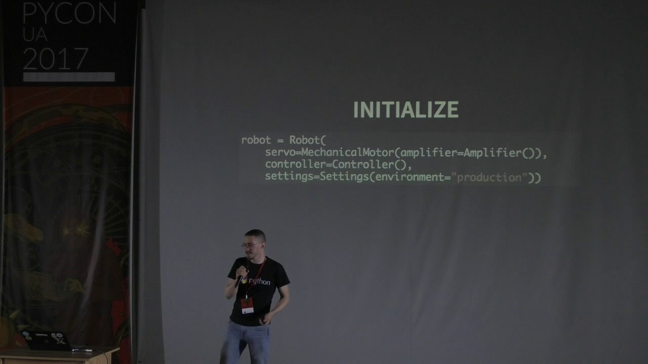Image from Day 2, Artyom Malyshev's lightning talk