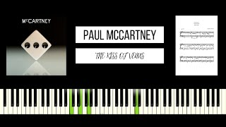 Paul McCartney - The Kiss of Venus (BEST PIANO TUTORIAL & COVER)