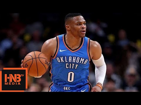 Oklahoma City Thunder vs New York Knicks 1st Half Highlights / Week 1 / 2017 NBA Season