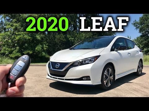2020 Nissan LEAF Review   Paying The EV Premium
