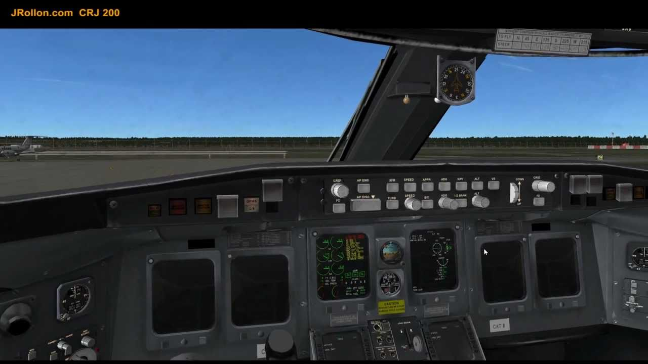 CRJ200 Tutorial (part1/3)