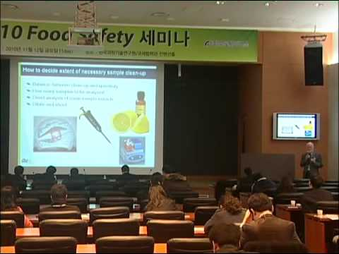 2010 Food Safety Seminar - Dr.John Gilbert-Food Safety Methods (2/8)