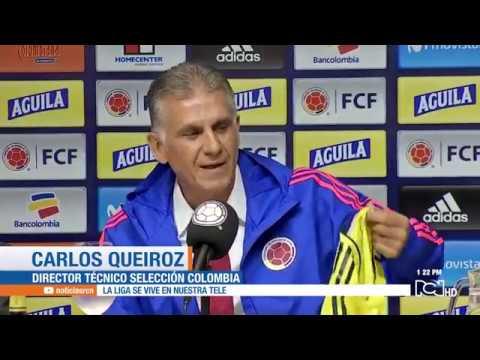 Carlos Queiroz, nuevo técnico de la Selección Colombia: presentación oficial