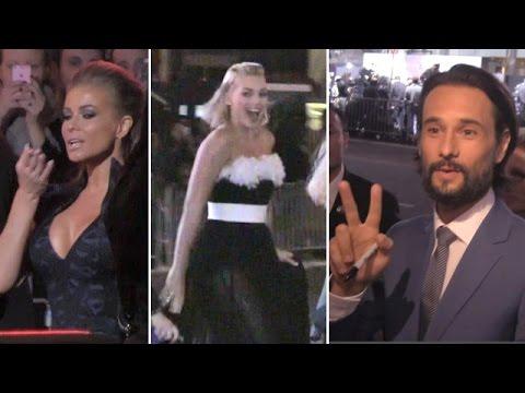 Margot Robbie, Carmen Electra And Rodrigo Santoro Attend Focus Premiere
