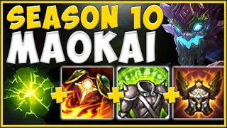 WHY WOULD RIOT EVER LET TANKS BECOME THIS BUSTED?? TANK MAOKAI SEASON 10 GAMEPLAY! League of Legends