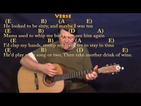 The Ballad of Curtis Loew (Lynyrd Skynyrd) Strum Guitar Cover Lesson with Chords/Lyrics