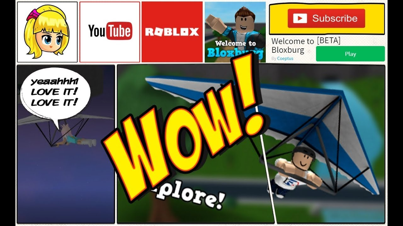 Where To Get A Free Hand Glider In Bloxburg! ROBLOX