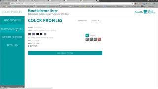 Speed Up Merch Listings - Merch Informer Lister UPDATE