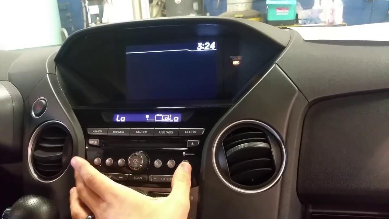 honda pilot radio code how to retrieve the serial number on honda pilot radio [ 1280 x 720 Pixel ]