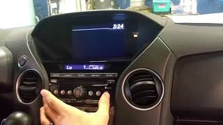 HOW TO retrieve the serial number on honda pilot radio lock out code