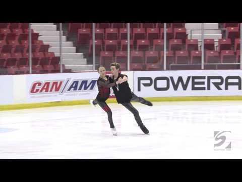 Amanda Miller 2016 Lake PIacid Dance International Junior Short Dance