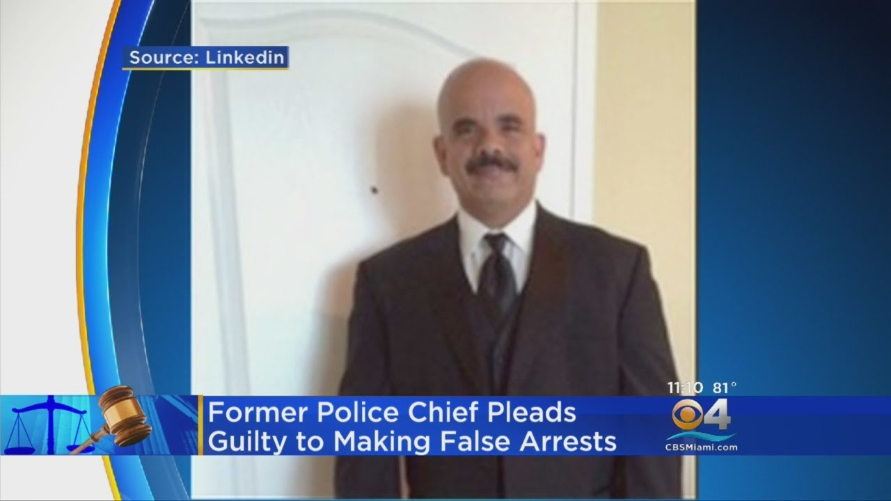 Racist Latino Police Chief Pleads Guilty To Ordering False Arrests Against Black People