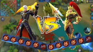 Alucard VS Zilong Full Lifesteal Build  - Mobile Legends #4