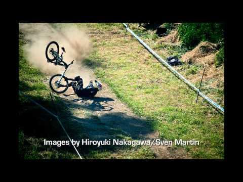 Gee Atherton's Awful Mountain Bike Crash at Mont Sainte Anne