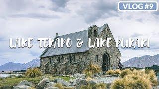 LAKE TEKAPO AND LAKE PUKAKI (NEW ZEALAND ROAD TRIP) /// THESTYLEJUNGLE VLOG #09