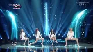 [VOSTFR] Secret (시크릿) - U R Fired (Live Music Bank)