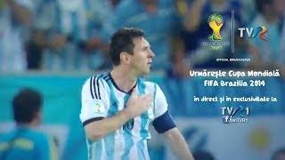 CM FIFA Brazilia 2014 în direct la TVR1 - program 21 iunie
