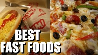 Fast Food in the Philippines: I try the best ones! GREENWICH, JOLLIBEE, MANG INASAL, GOLDILOCKS!